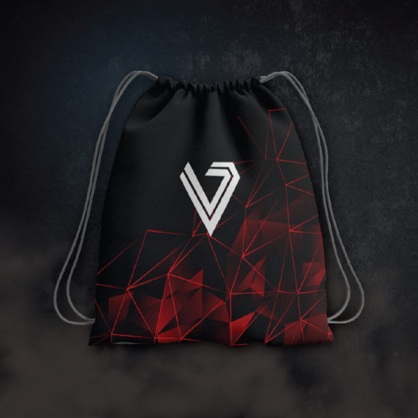 Race to Victory - Red Drawstring Bag